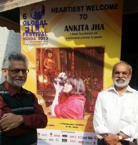 Ankita Jha's Nature photography exhibition at AAFT, NOIDA