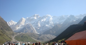 The catchment behind Kedarnath. Photo taken on 25 May 2010